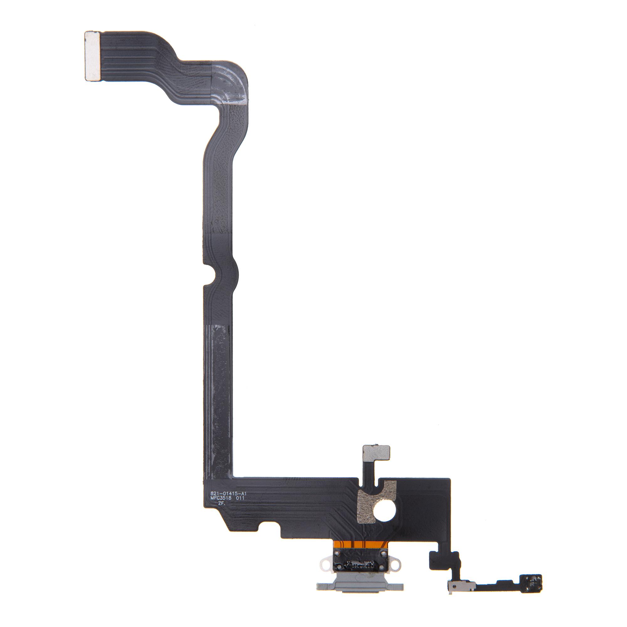 iPhone XS Max Flex Kabel vč. Dobíjecího Konektoru White