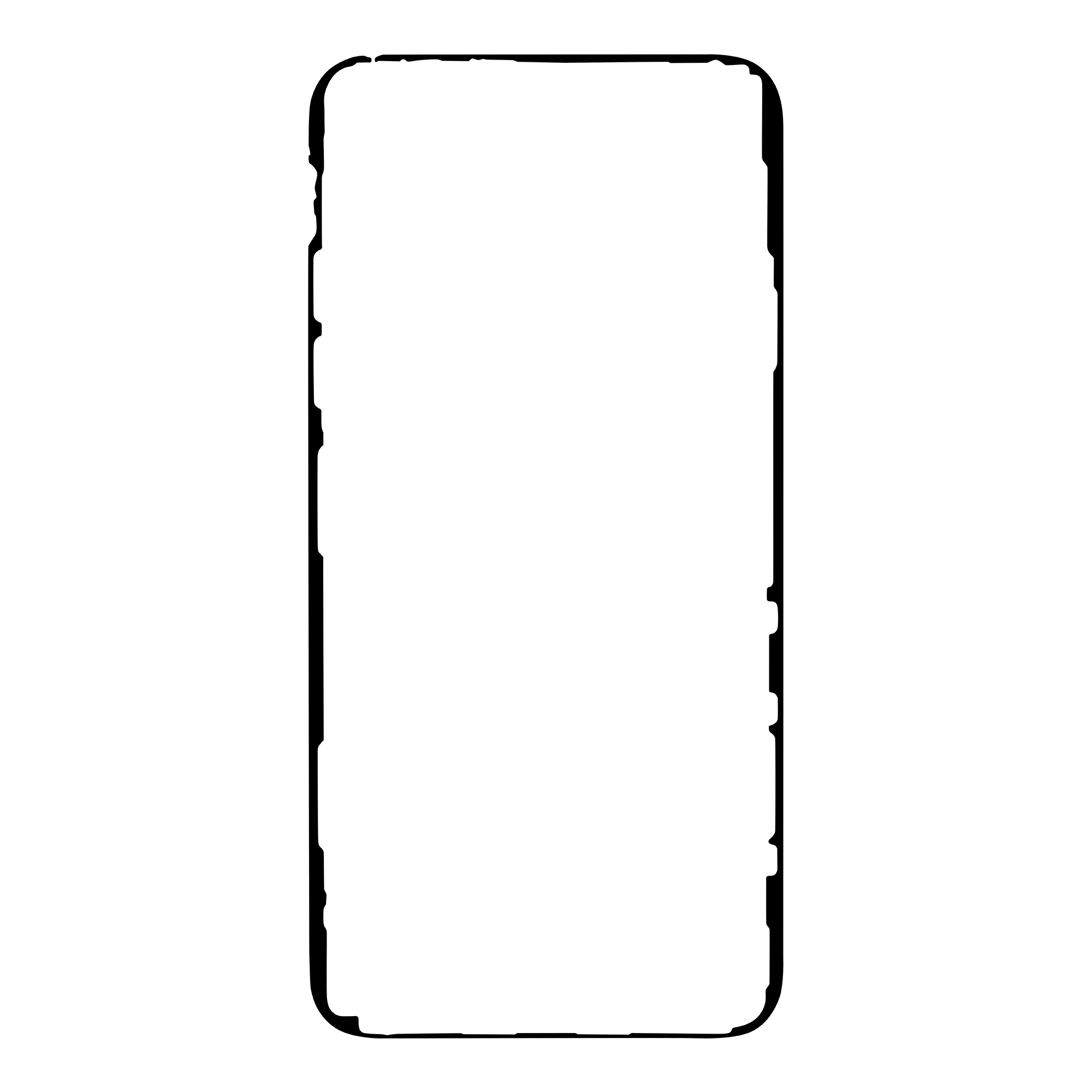iPhone 11 Pro Max Lepicí Páska pro LCD Black