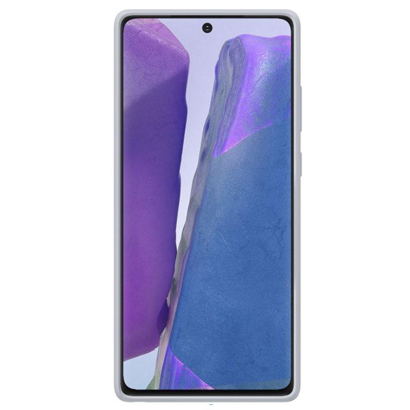 EF-XN980FJE Samsung Kvadrat Cover pro N980 Galaxy Note 20 Grey 8806090560101