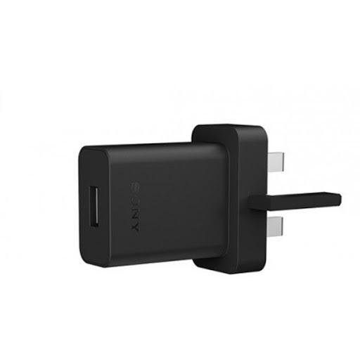 UCH-20 Sony USB Cestovní nabíječ UK Black (Service Pack)