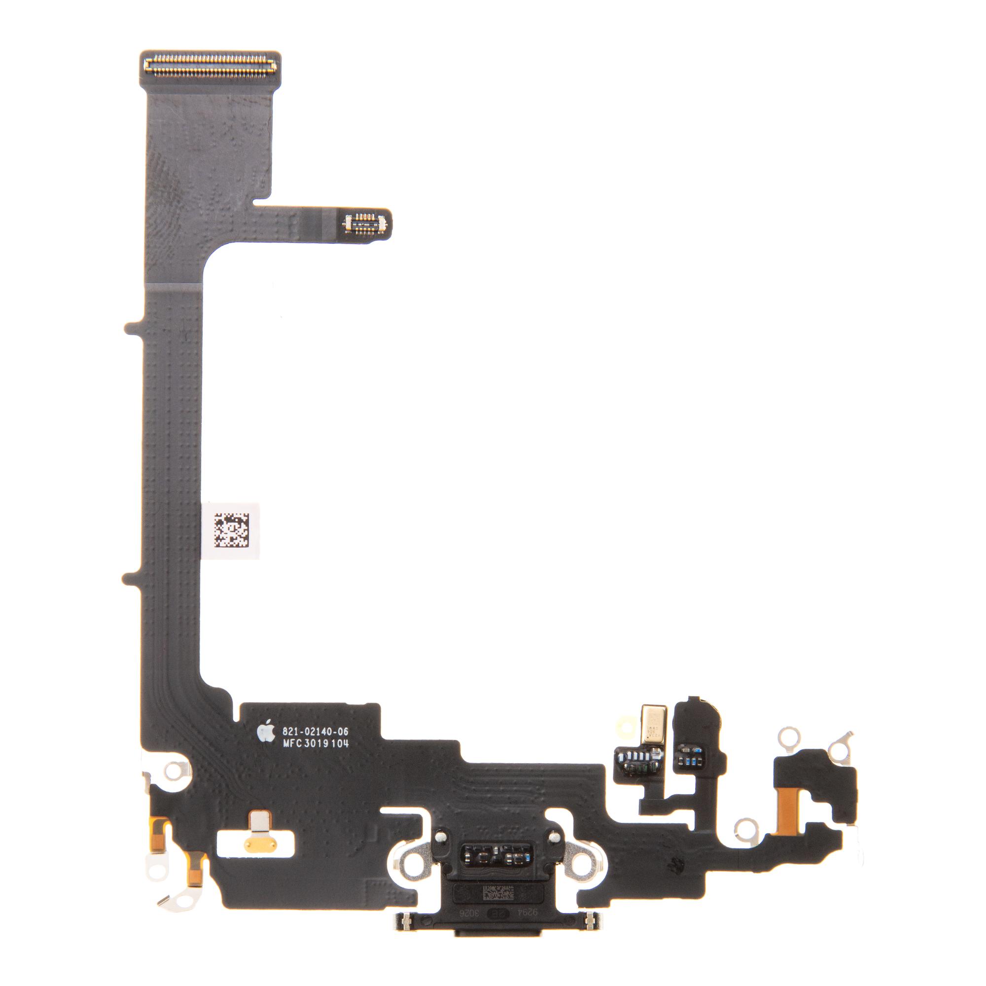iPhone 11 Pro Flex Kabel vč. Dobíjecího Konektoru Black