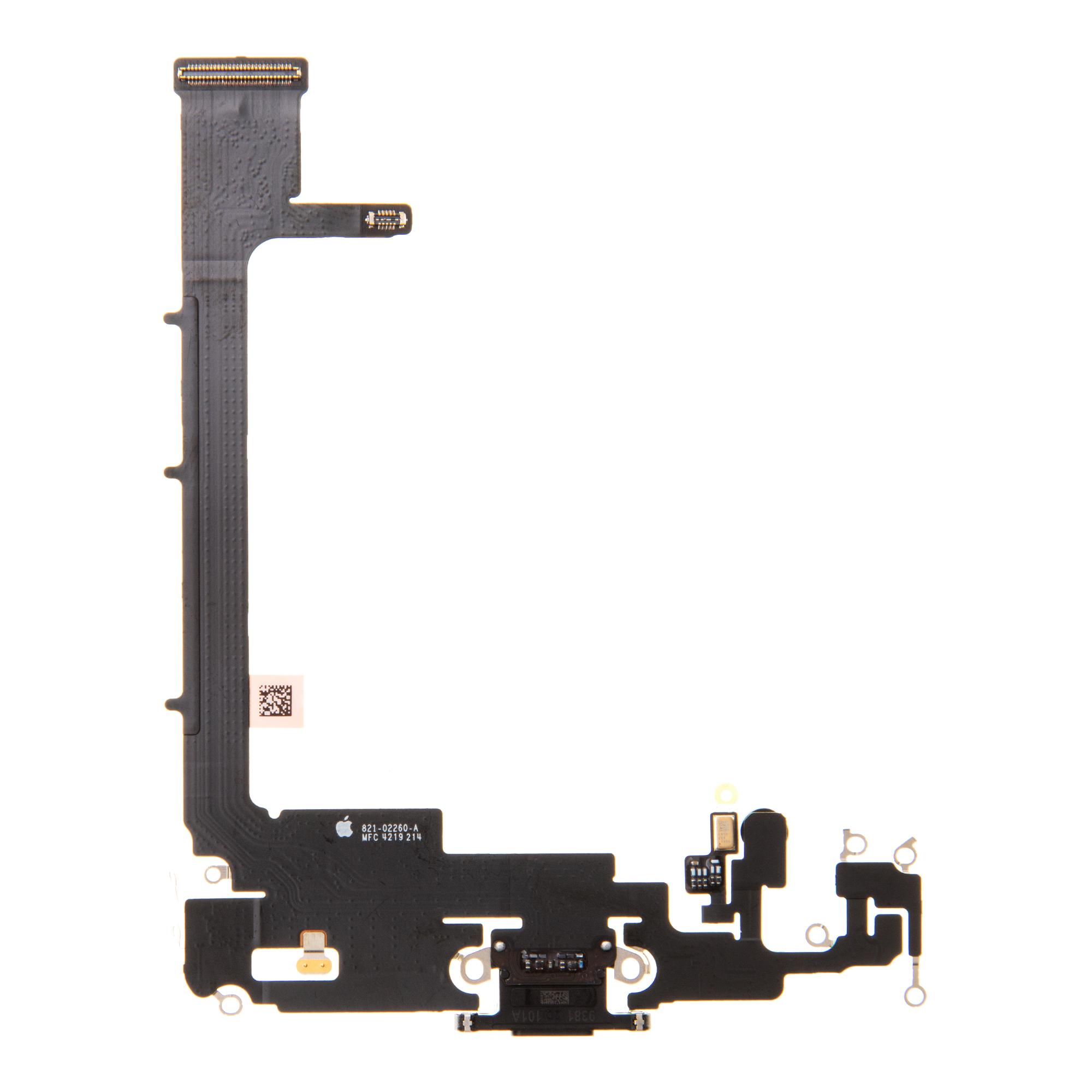 iPhone 11 Pro Max Flex Kabel vč. Dobíjecího Konektoru Black