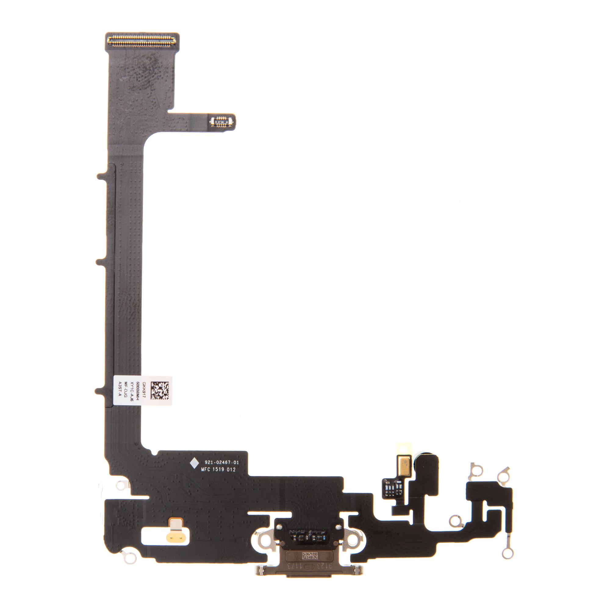 iPhone 11 Pro Max Flex Kabel vč. Dobíjecího Konektoru Gold