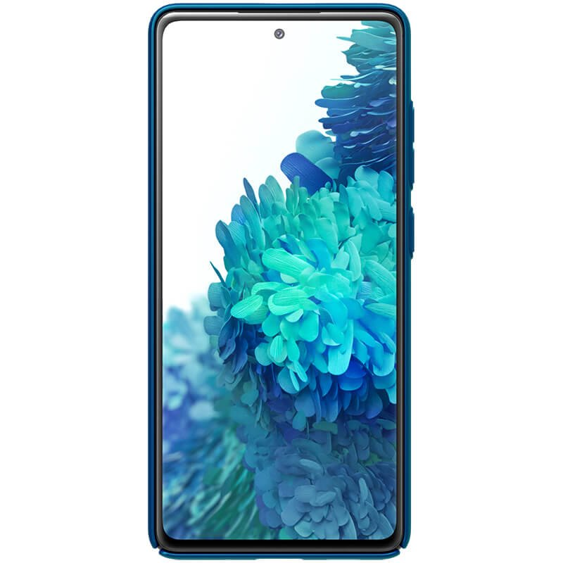 Nillkin Super Frosted Zadní Kryt pro Samsung Galaxy S20 FE Peacock Blue 6902048206021