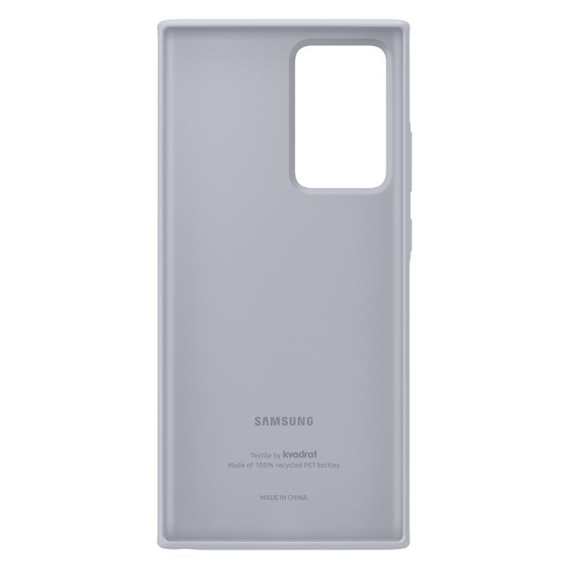 EF-XN985FJE Samsung Kvadrat Cover pro N985 Galaxy Note 20 Ultra Grey 8806090560057