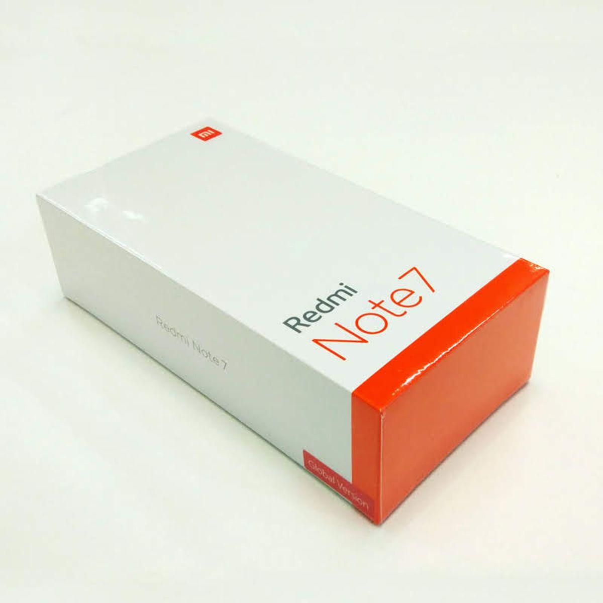 Xiaomi Redmi Note 7 Black Prázdný Box