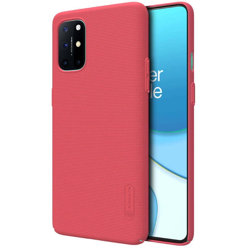 Nillkin Super Frosted Zadní Kryt pro OnePlus 8T Bright Red 6902048207103
