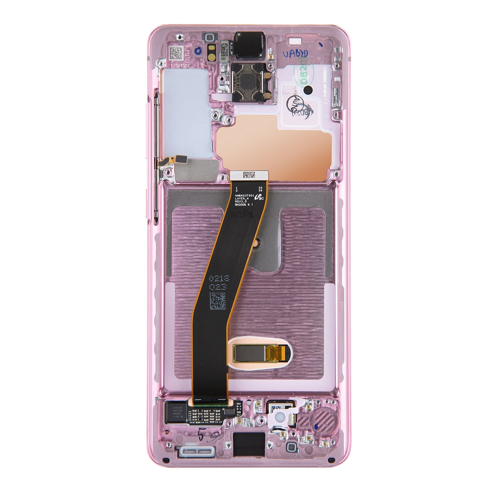 LCD display + Dotyk Samsung G980 Galaxy S20 Cloud Pink (Service Pack)