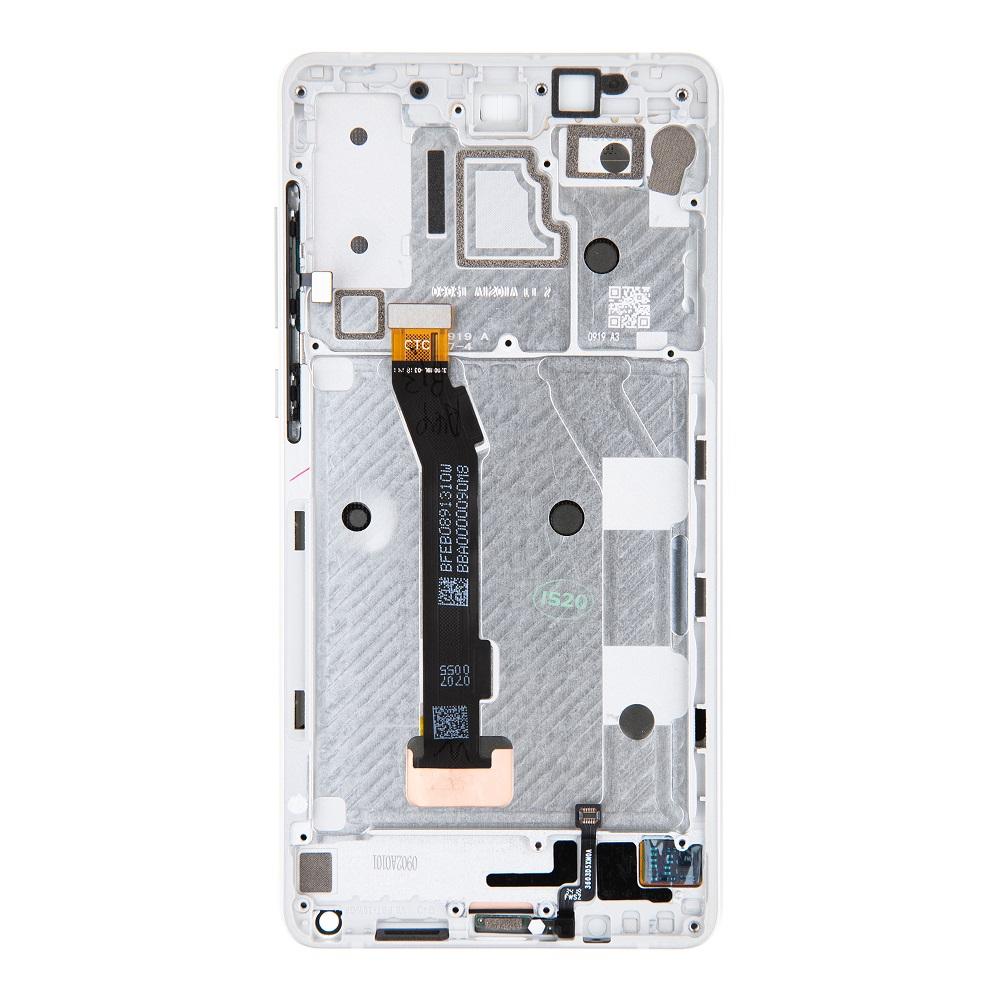 LCD Display + Dotyková Deska + Přední Kryt pro Xiaomi Mi Mix 2S White (Service Pack)