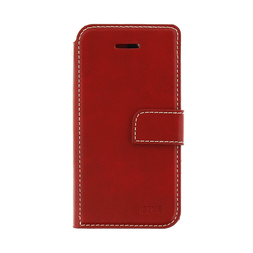 Molan Cano Issue Book Pouzdro pro Motorola G9 Plus Red 8596311135675