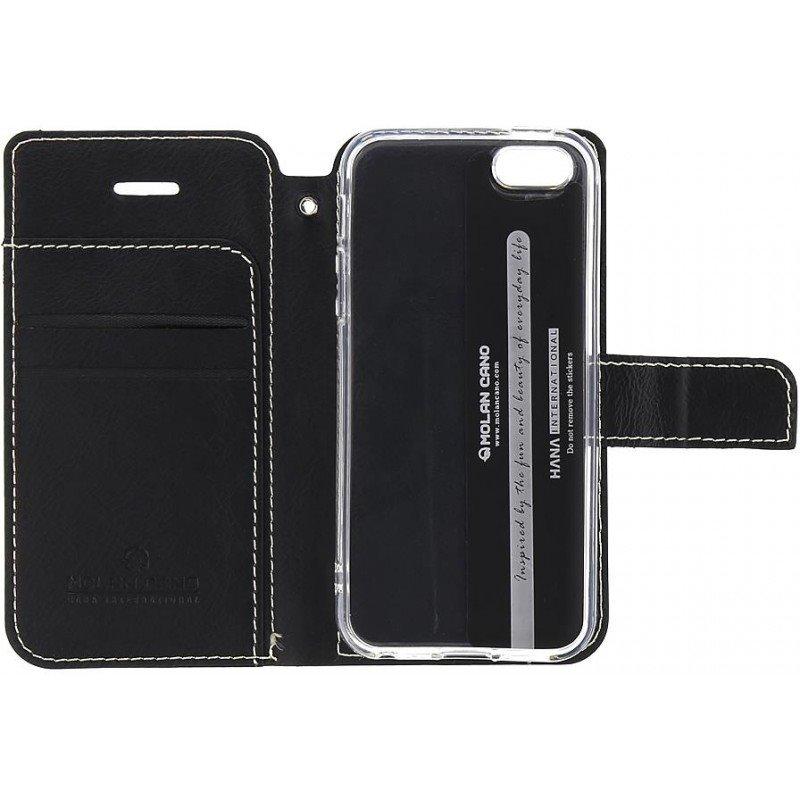 Molan Cano Issue Book Pouzdro pro OnePlus Nord N100 Black