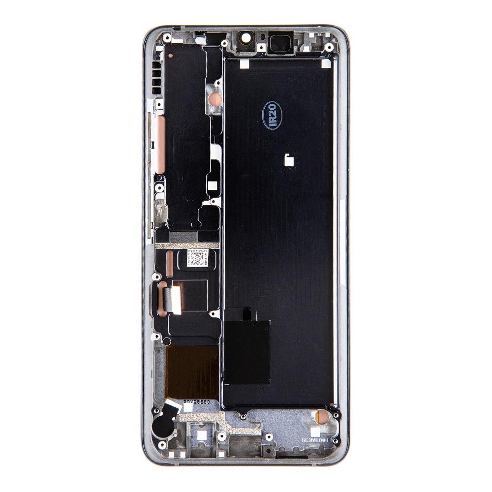 LCD Display + Dotyková Deska + Přední Kryt pro Xiaomi Mi Note 10 Pro Black