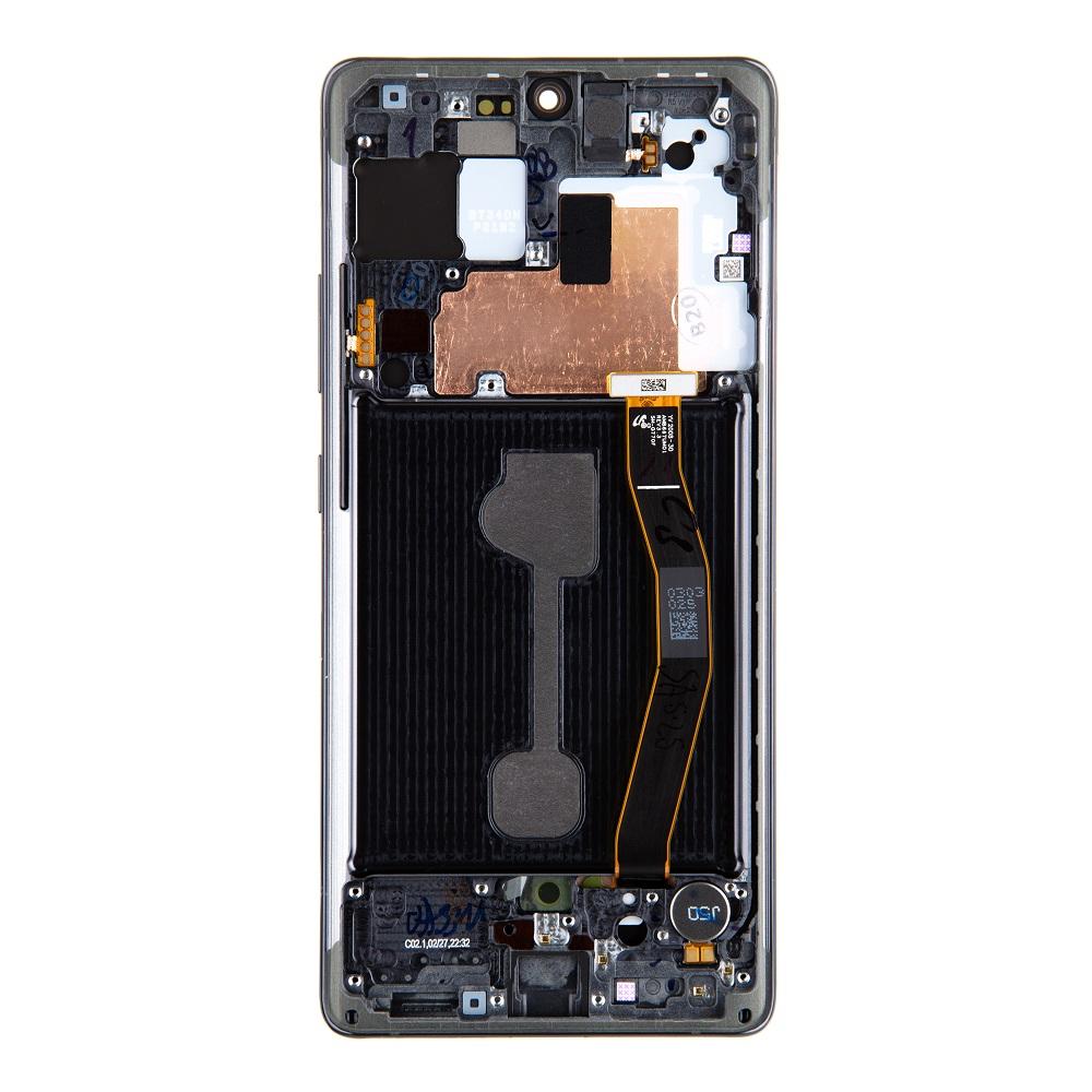LCD display + Dotyk Samsung G770F Galaxy S10 Lite Prism Black (Service Pack)