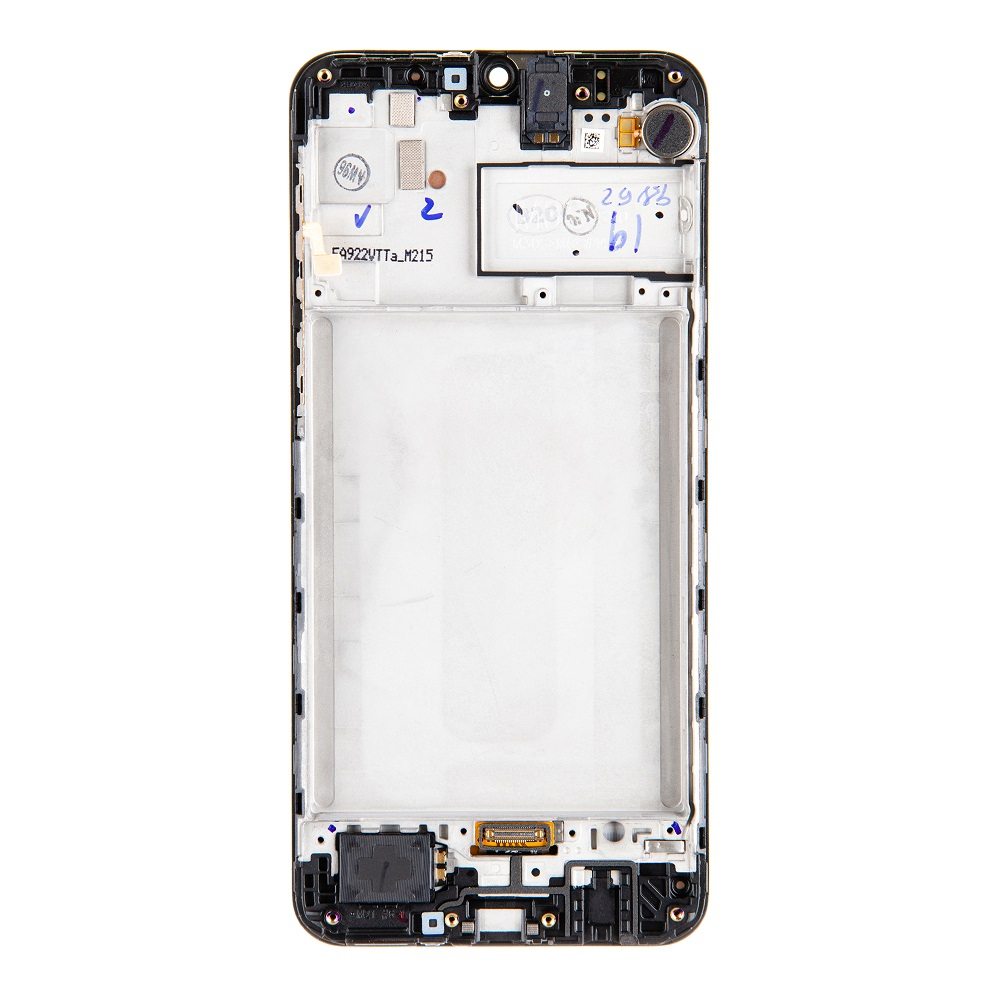LCD display + Dotyk Samsung M215F Galaxy M21 Black (Service Pack)