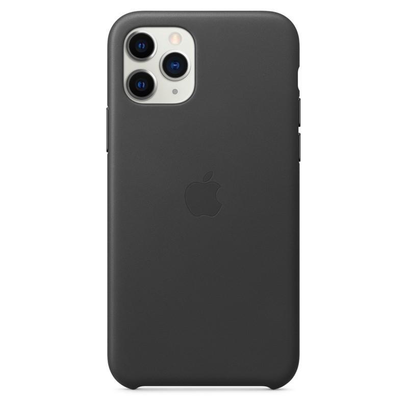 MWYE2ZM/A Apple Kožený Kryt pro iPhone 11 Pro Black 190199269538