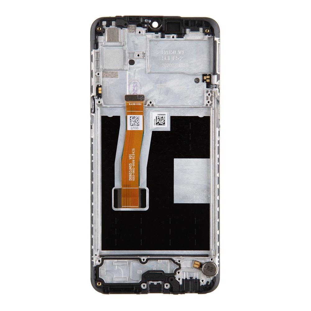 LCD Display + Dotyková Deska + Přední Kryt pro Realme 5 Pro (Service Pack)