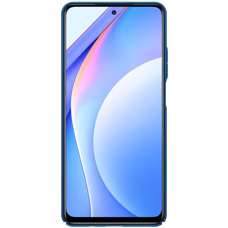 Nillkin Super Frosted Zadní Kryt pro Xiaomi Mi 10T Lite 5G Peacock Blue 6902048210943