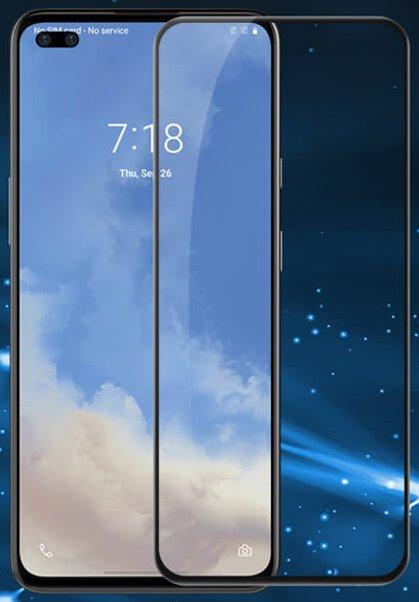 Nillkin Tvrzené Sklo 2.5D CP+ PRO Black pro OnePlus Nord N10 5G