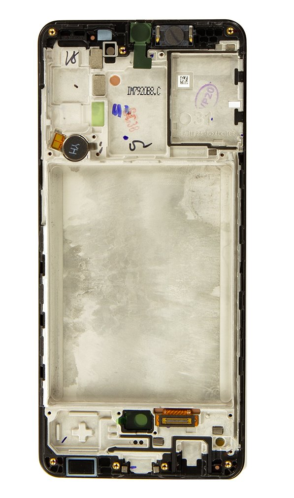 LCD display + Dotyk Samsung A315F Galaxy A31 Black (Service Pack)