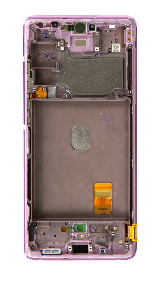 LCD display + Dotyk Samsung G780 4G Galaxy S20 FE Cloud Lavender (Service Pack)