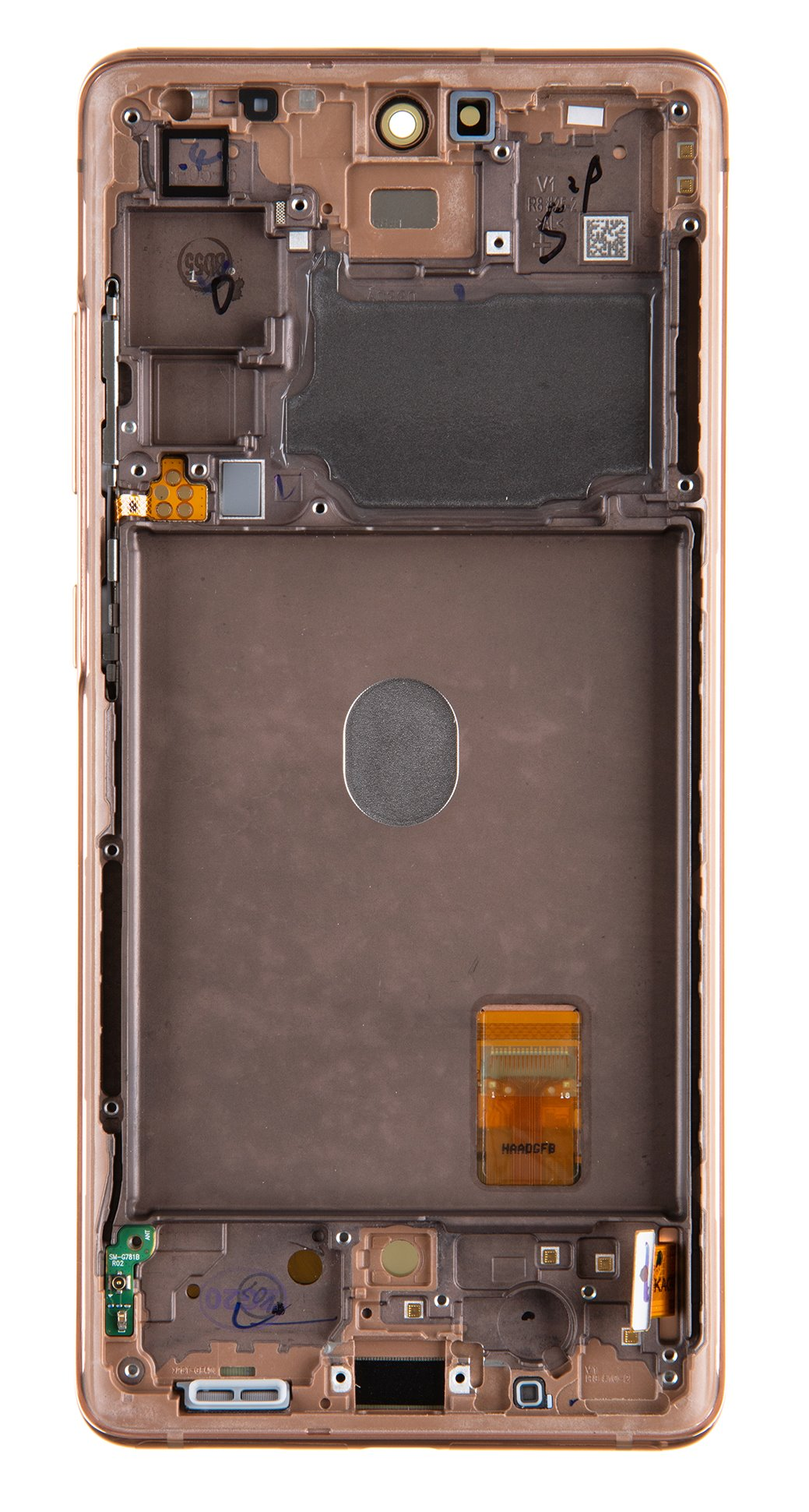 LCD display + Dotyk Samsung G781 5G Galaxy S20 FE Cloud Orange (Service Pack)