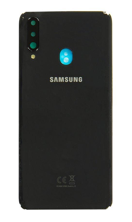Samsung Galaxy A20s Kryt Baterie Black (Service Pack)