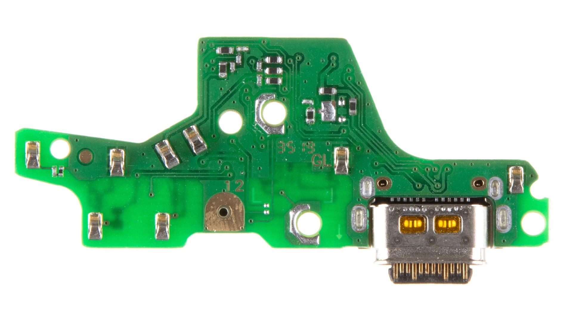 Motorola G8 Plus Deska vč. Dobíjecího Konektoru