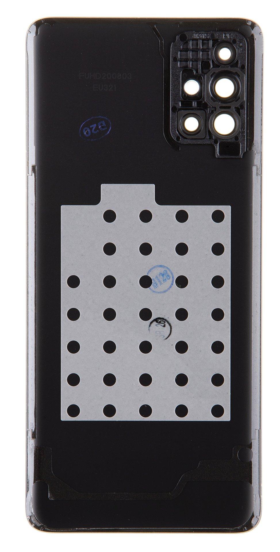 Samsung Galaxy M31s Kryt Baterie Black (Service Pack)
