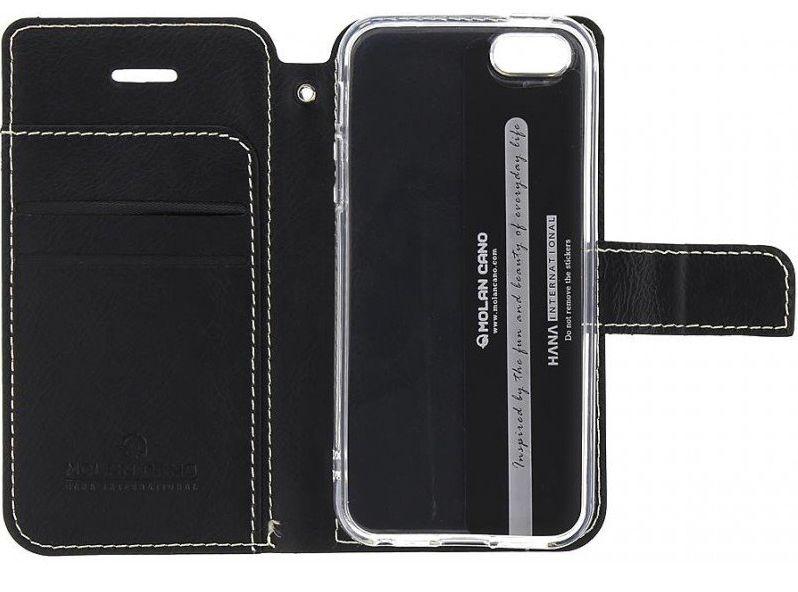 Molan Cano Issue Book Pouzdro pro Motorola E7 Power Black