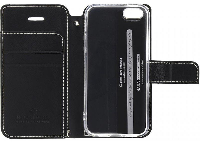 Molan Cano Issue Book Pouzdro pro Motorola G10 Black