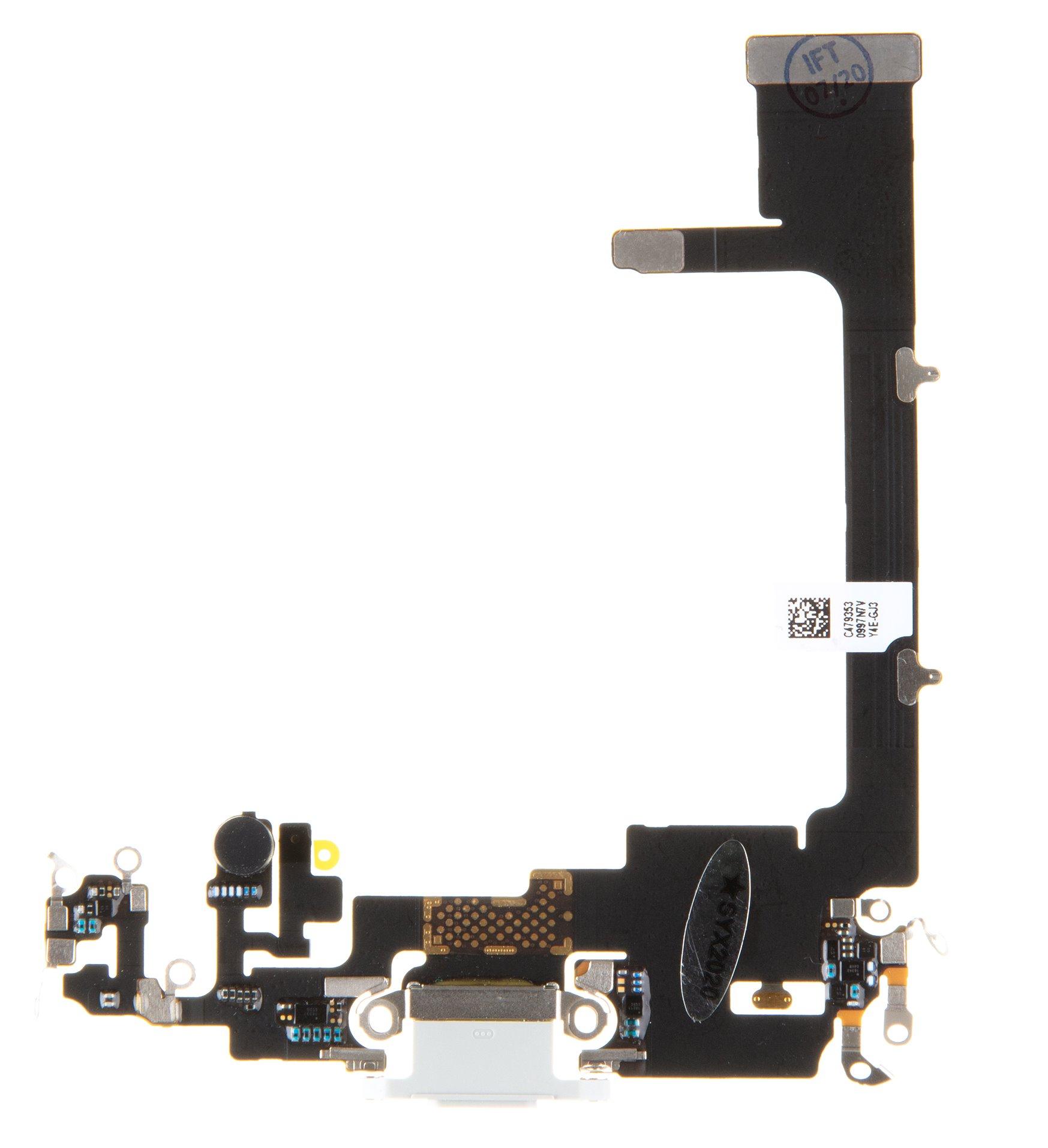 iPhone 11 Pro Flex Kabel vč. Dobíjecího Konektoru White