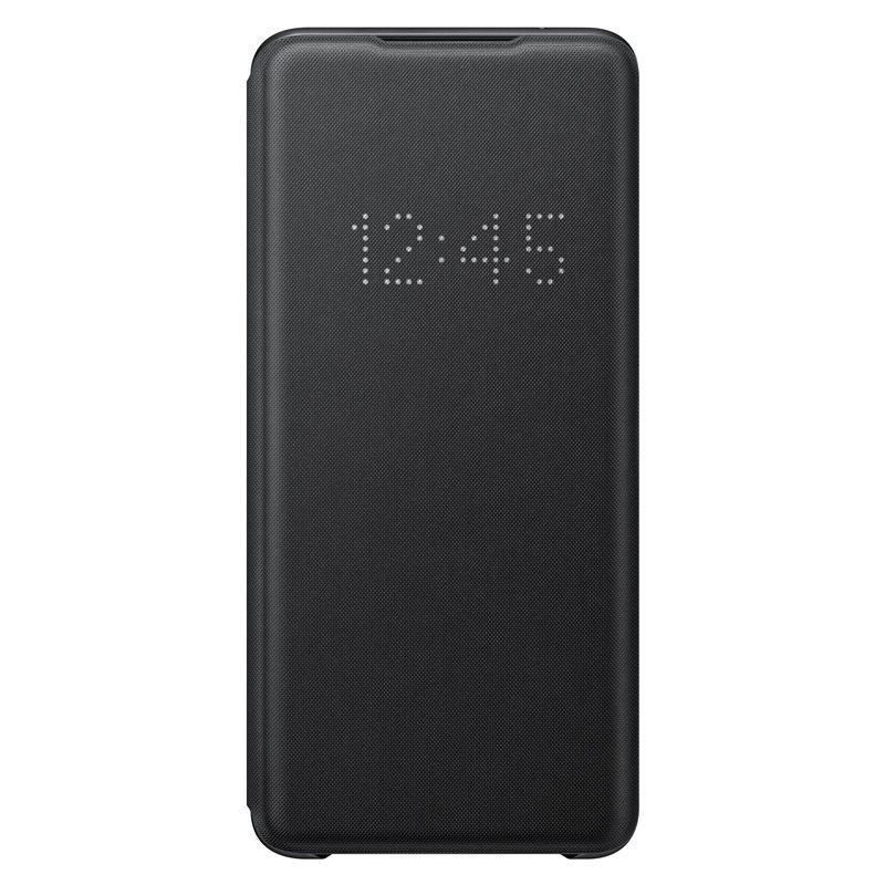 EF-NG988PBE Samsung LED S-View Pouzdro pro Galaxy S20 Ultra Black (Pošk. Balení) 8596311140082