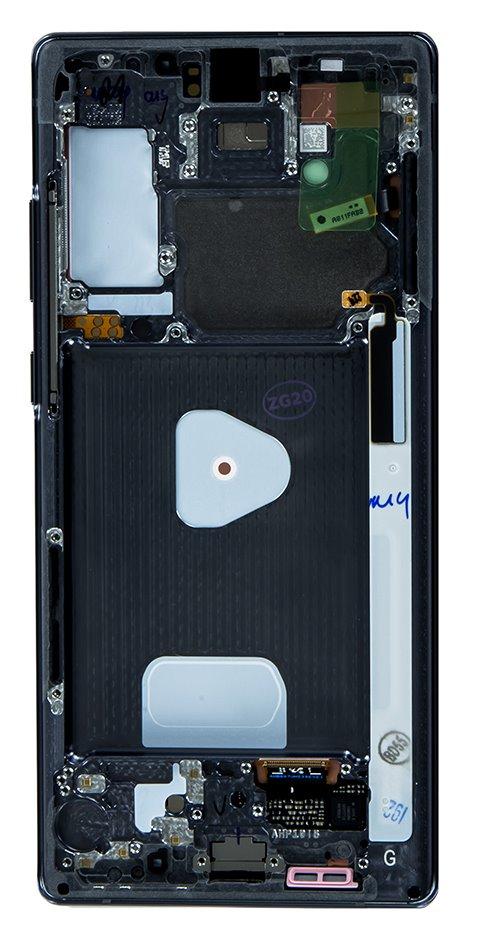LCD display + Dotyk Samsung N980 Galaxy Note 20 Mystic Grey (Service Pack)