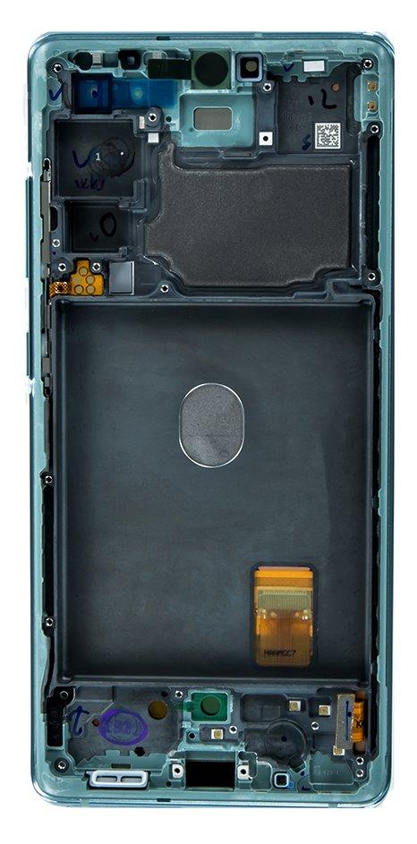 LCD display + Dotyk Samsung G780 4G Galaxy S20 FE Cloud Mint (Service Pack)