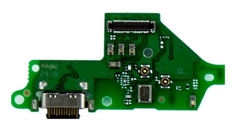 Motorola One Vision Deska vč. Dobíjecího Konektoru