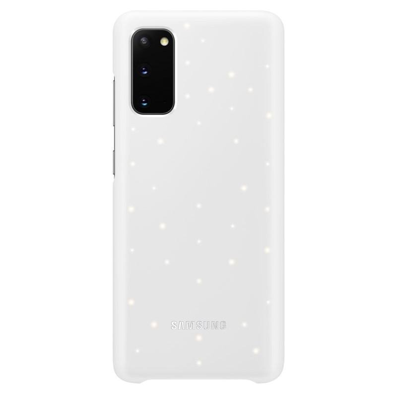 EF-KG980CWE Samsung LED Kryt pro Galaxy S20 White (Pošk. Balení) 8596311142857