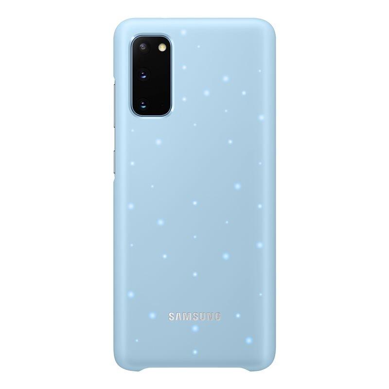 EF-KG980CLE Samsung LED Kryt pro Galaxy S20 Blue (Pošk. Balení) 8596311143533