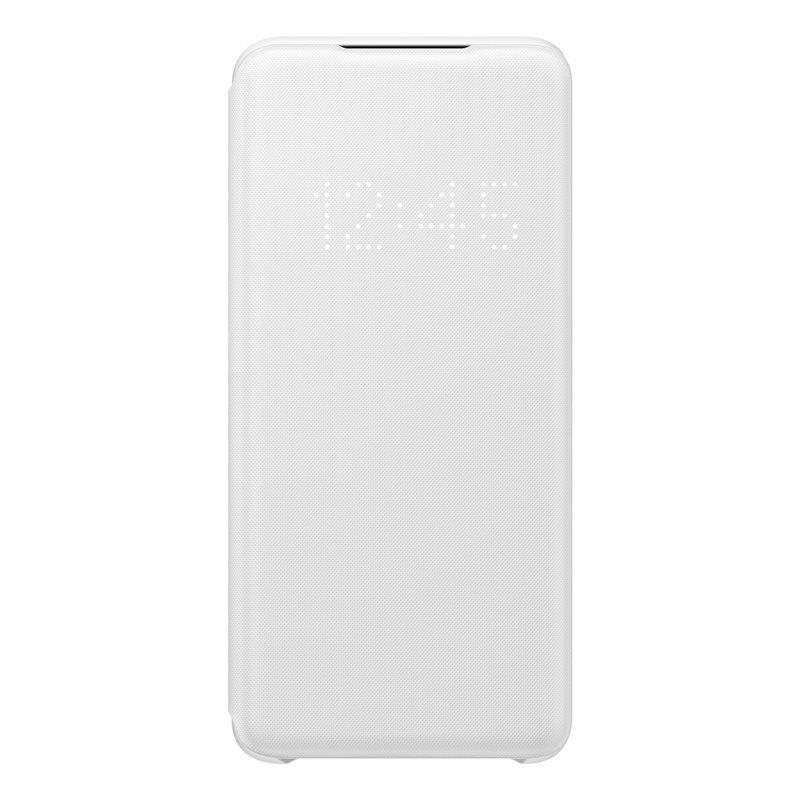EF-NG980PWE Samsung LED S-View Pouzdro pro Galaxy S20 White (Pošk. Balení) 8596311143571