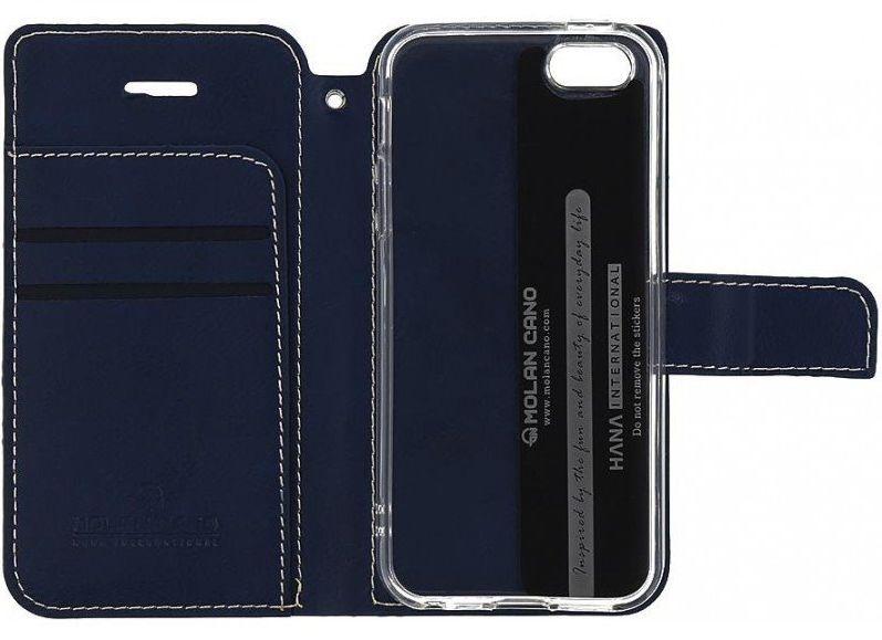 Molan Cano Issue Book Pouzdro pro Samsung Galaxy A72 Navy 8596311143830