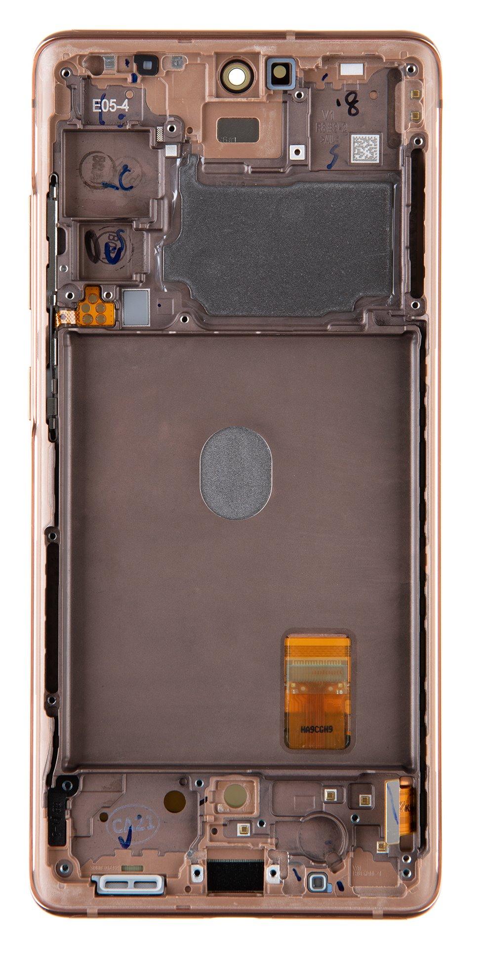 LCD display + Dotyk Samsung G780 4G Galaxy S20 FE Cloud Orange(Service Pack)