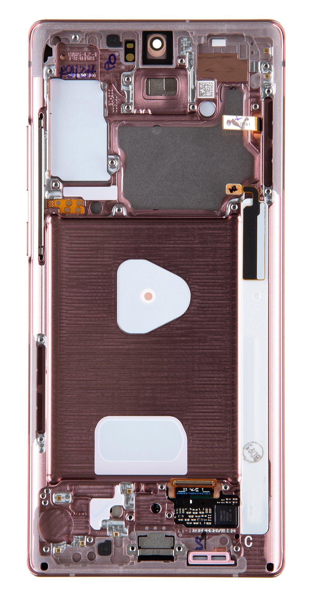 LCD display + Dotyk Samsung N980 Galaxy Note 20 Mystic Bronze (Service Pack)