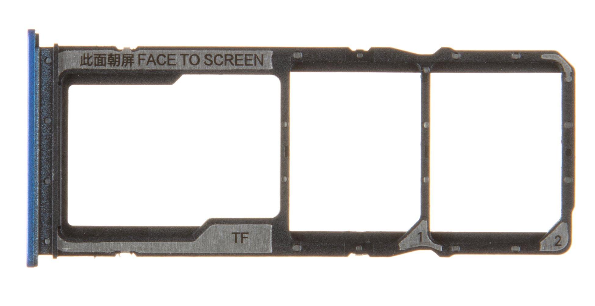 Xiaomi Redmi 8  Držák SIM a Pam.Karty Blue