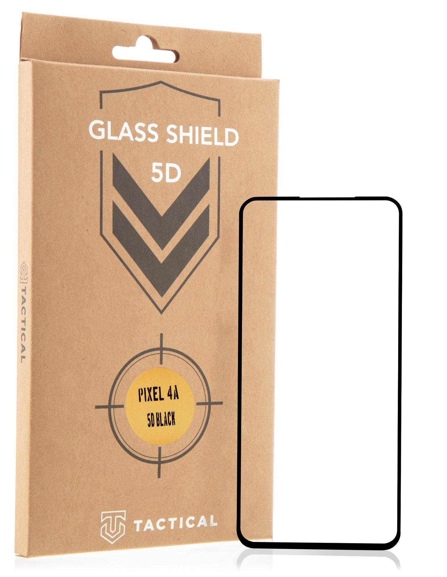 Tactical Glass Shield 5D sklo pro Google Pixel 4A Black