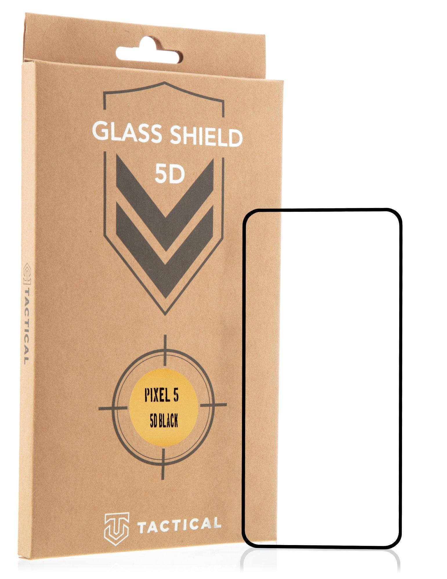 Tactical Glass Shield 5D sklo pro Google Pixel 5 Black