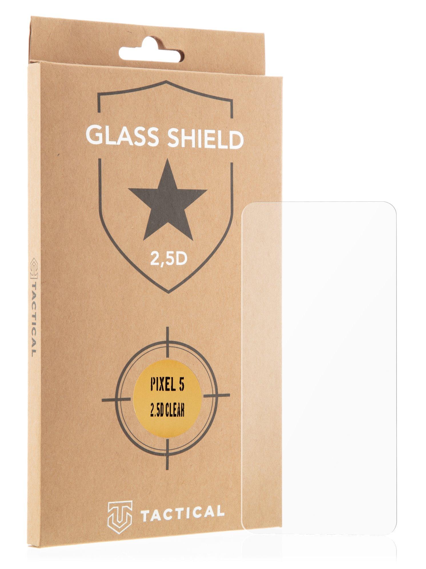 Tactical Glass Shield 2.5D sklo pro Google Pixel 5 Clear