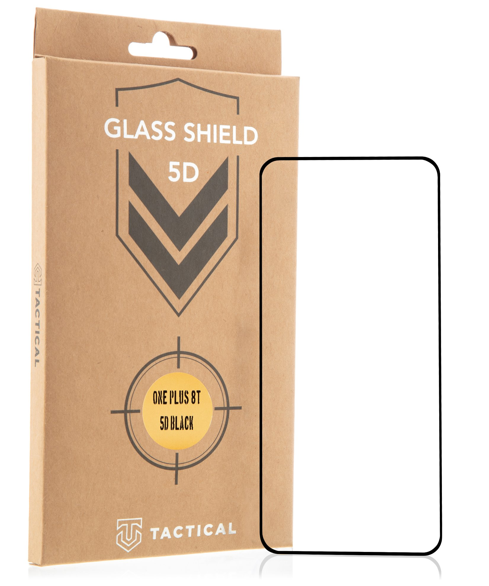 Tactical Glass Shield 5D sklo pro OnePlus 8T Black