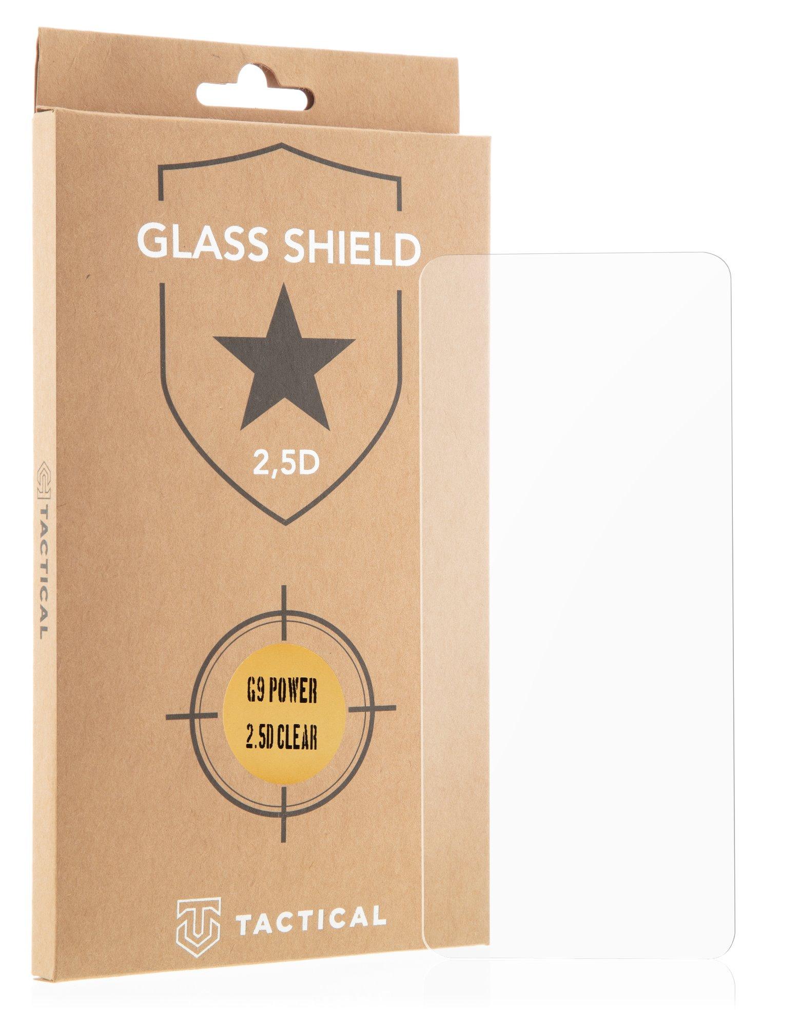 Tactical Glass Shield 2.5D sklo pro Motorola G9 Power Clear