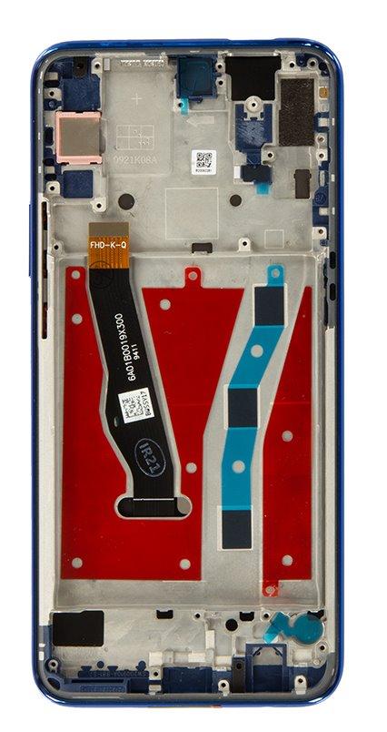 Huawei P Smart Z LCD Display + Dotyková Deska + Přední Kryt Blue