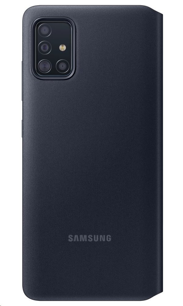 EF-EA515PBE Samsung S-View Pouzdro pro Galaxy A51 Black