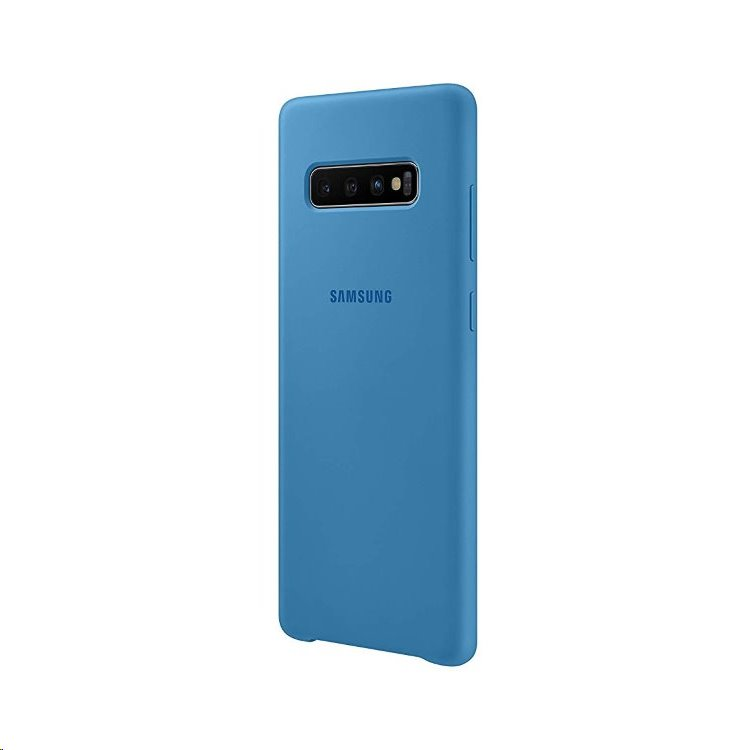 EF-PG975TLE Samsung Silicone Cover Blue pro G975 Galaxy S10+